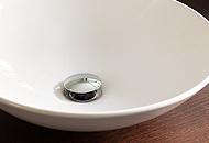 Clicker, bathroom sink drain top