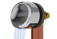 fill drain, flow restricting aerators, full flow laminar stream straighteners