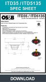 Freestanding Bath Tub Drain, Island Tub Drain, ITD35, ITD5135