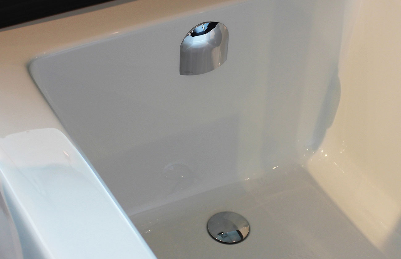 Island tub drain acri tec bath and kitchen products - Bath Tub Drain Trim Kit
